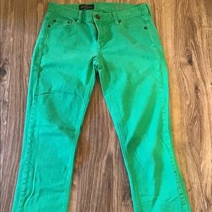 J.Crew Matchstick Jeans Size 27